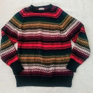 Early 90s vintage oversized striped sweater